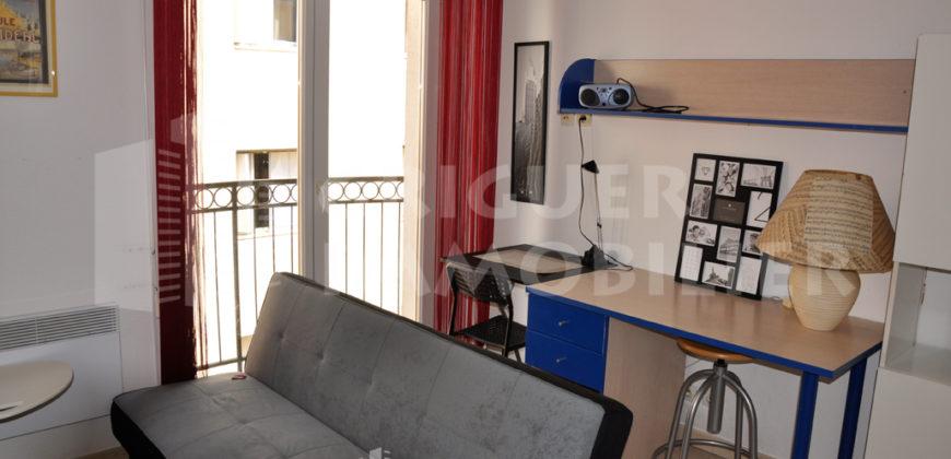 Location studio meublé Nice Riquier