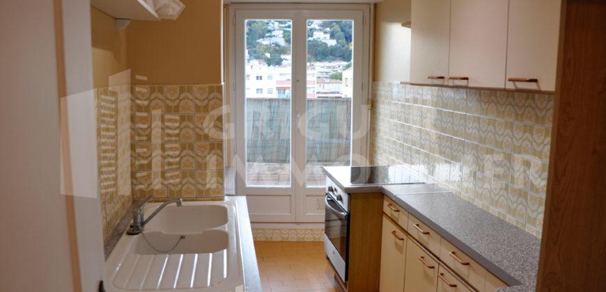 Vente 2 pièces avec terrasse dernier étage Nice Gorbella