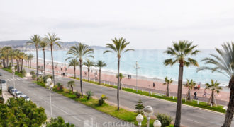 Location 3 pieces terrasse garage Promenade des Anglais