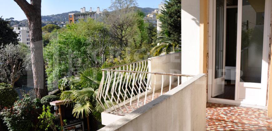 Location 2 pièces Cimiez / Cap de Croix