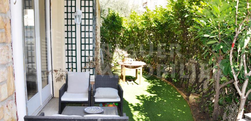 Vente 3 P rez de jardin quartier Cimiez